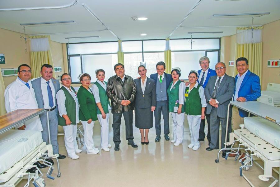 IMSS, la gran institución del país, afirma Barbosa