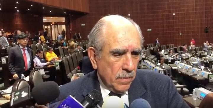 """Pablo Gómez califica de """"obsoleta"""" la Ley Orgánica de la UNAM"""