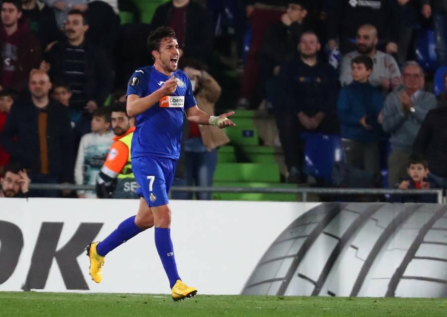 Getafe pone contra las cuerdas al Ajax de Edson Álvarez
