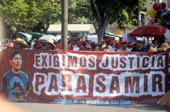 Acusa AMLO que adversarios usaron homicidio de Samir Flores para atacarlo