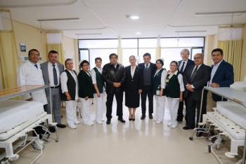 """IMSS pone en operación 60 camas para el Hospital """"La Margarita"""""""