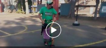 Maestro de educación física enseña cómo reaccionar en caso de secuestro