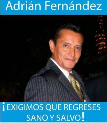 Secuestran al periodista Adrián Fernández en Morelos