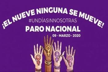 Alcaldía Benito Juárez se sumará al paro nacional #UnDíaSinNosotras