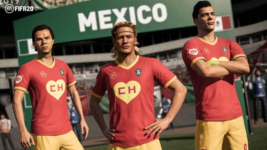 """FIFA 20 lanza uniforme del """"Chapulín Colorado"""