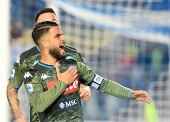 Sin Lozano por lesión, Napoli gana al Brescia