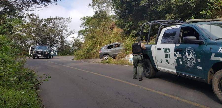 Mueren tres personas tras ataque en la base de la Fuerza Civil en Veracruz