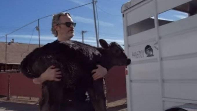 Joaquin Phoenix salva a Liberty y a su cría