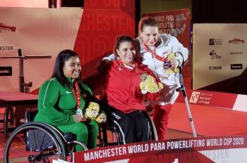 Mexicana Miriam Aguilar se cuelga el oro en Copa del Mundo