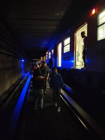 Desalojan metro entre las estaciones Cuatro Caminos y Panteones