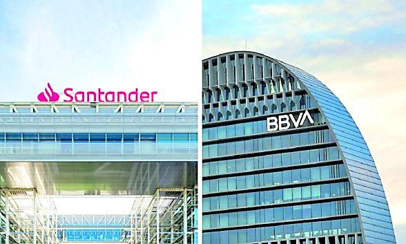México empuja a los españoles BBVA y Santander con mayor aportación anual