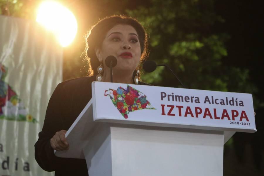 """Iztapalapa apoya el paro nacional """"Un día sin mujeres"""": Clara Brugada"""