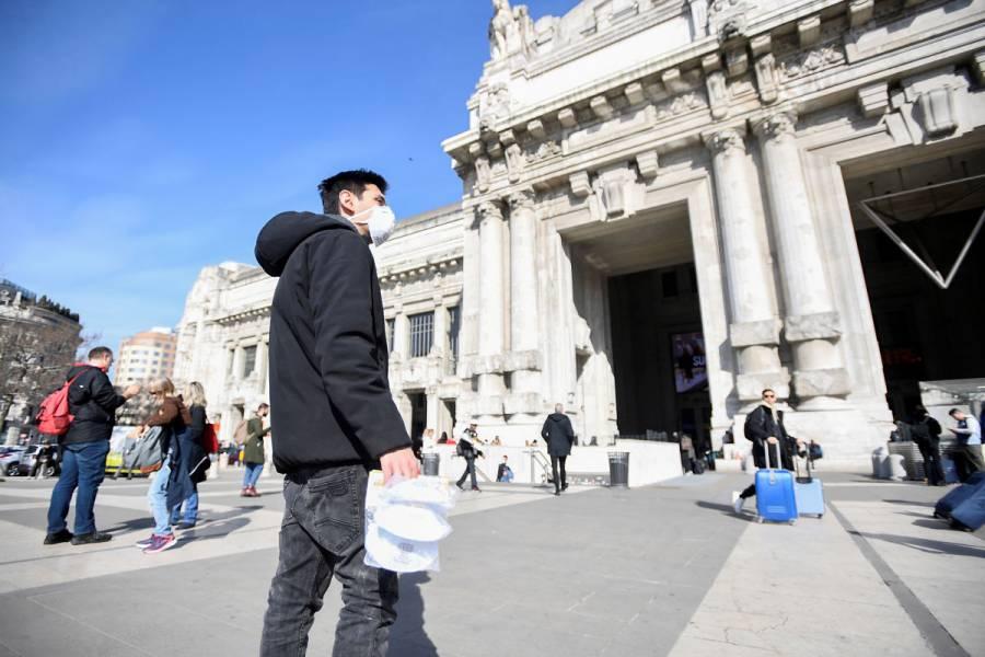 Italia reporta la cuarta muerte por Covid-19