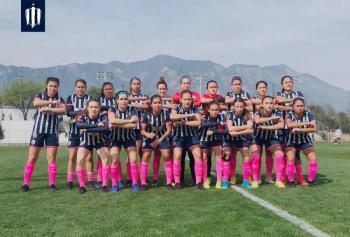 Futbolistas de la Liga MX Femenil protestan contra la violencia