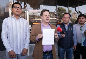 """PRD interpone denuncia penal contra AMLO por la """"coperacha"""" con empresarios"""