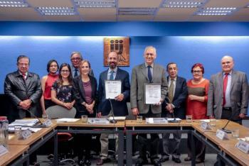 Agricultura y UNAM firman carta para la prevención de la tuberculosis