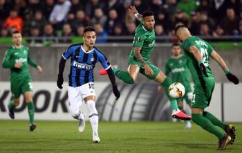 Inter vs Ludogorets se jugará a puerta cerrada por casos de coronavirus