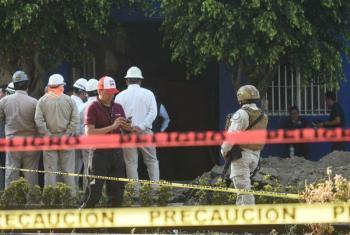 Encuentran toma clandestina de combustible en alcaldía Miguel Hidalgo