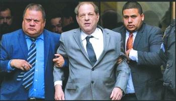 Trasladan a Weinstein a hospital por problema cardiaco