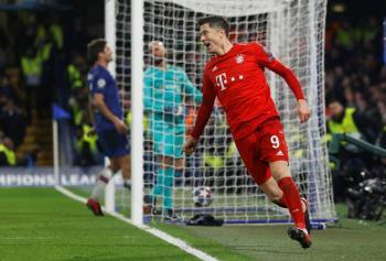 Bayern aplasta al Chelsea y encarrila pase a cuartos en la Champions