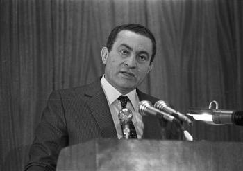 Fallece el ex presidente de Egipto Hosni Mubarak