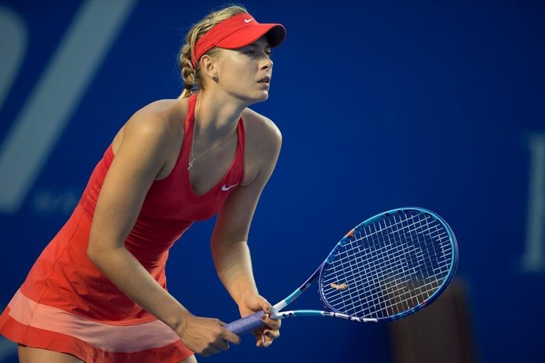 María Sharapova baja el telón con 38 mdd y un dopaje