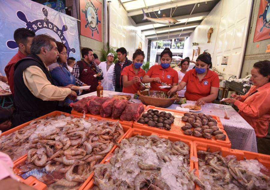 Garantizan abasto de pescados y mariscos para cuaresma y Semana Santa