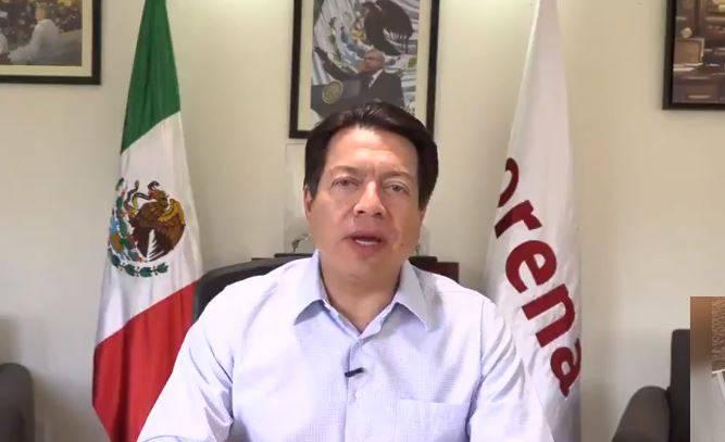 Mario Delgado felicita a Ramírez Cuéllar por ser presidente nacional de Morena