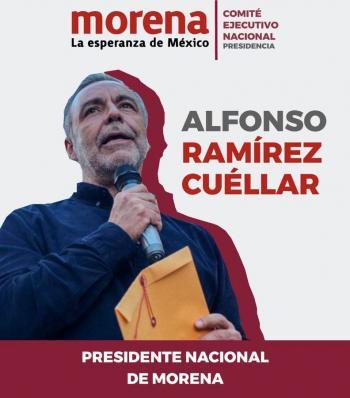 Avala TEPJF elección de Ramírez Cuéllar en Morena