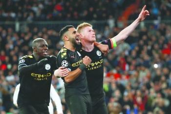 Manchester City gana por primera vez en casa merengue