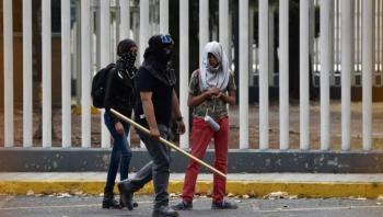 Condena la UNAM acciones violentas de embozados en CCH Azcapotzalco