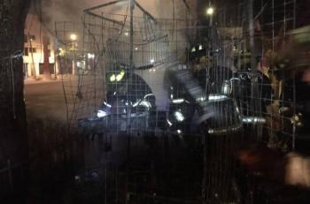 Se registra incendio en Canal de Miramontes
