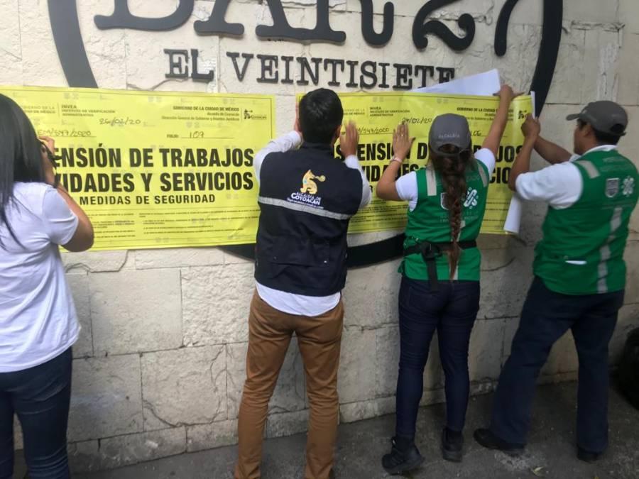 Clausuran Bar 27, donde integrantes de la Unión Tepito golpearon a jóvenes