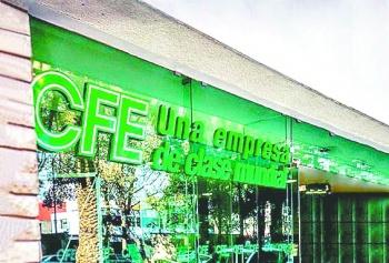 CFE reporta aumento de 13.6% en utilidades