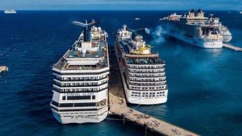 Protestan en Cozumel por arribo de crucero de MSC