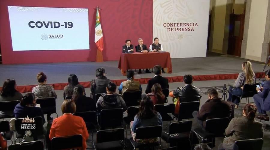 Confirman ya tres casos de coronavirus en México