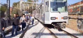 Se restablece servicio de tren ligero
