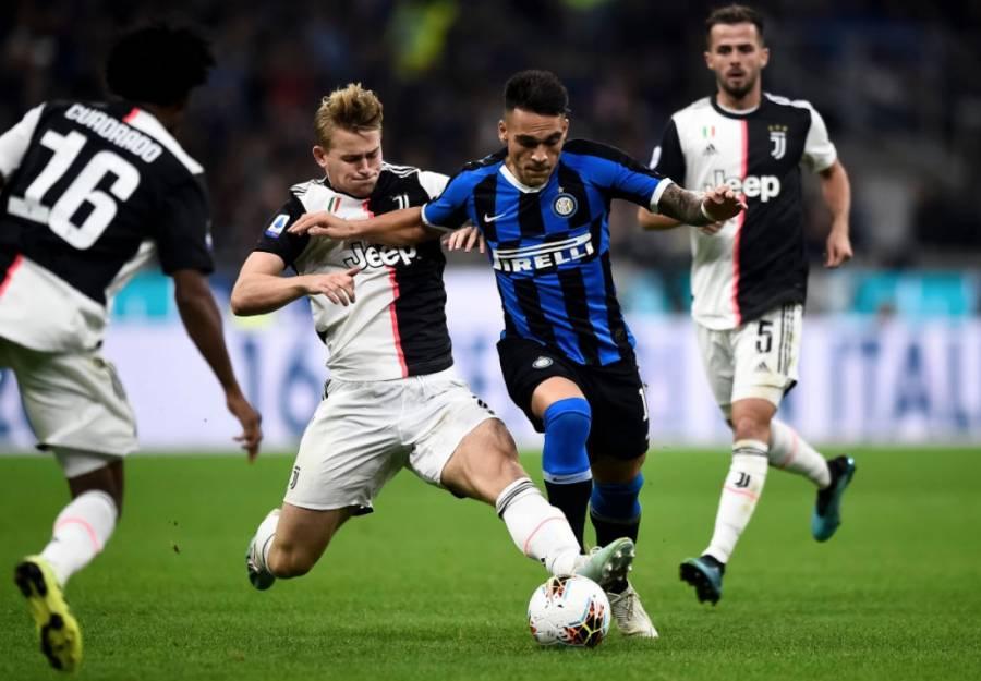 Posponen el Juventus vs Inter y cuatro partidos más por coronavirus en Italia