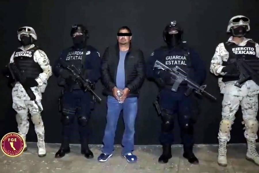 """Detienen a Fabián """"N"""", alias """"La Vieja"""", colaborador de """"El Marro"""""""