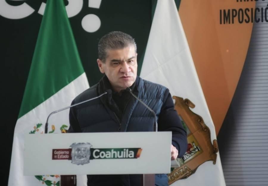 Riquelme confirma primer caso de coronavirus en Coahuila