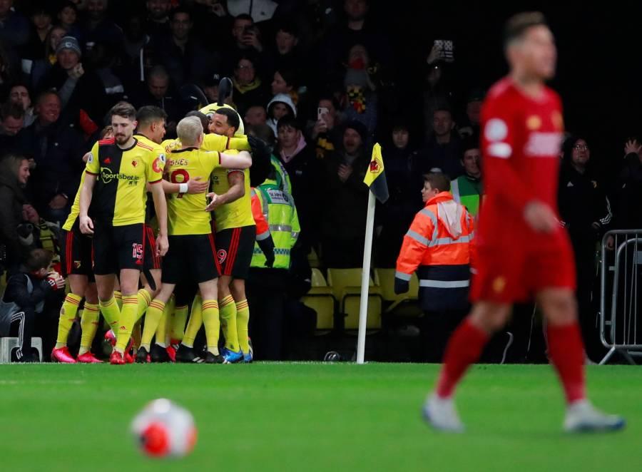 Watford vence al Liverpool y fulmina su invicto