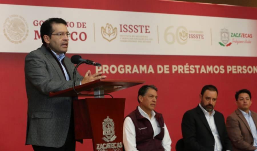 Prestará el ISSSTE 34 mil 340 millones de pesos a sus afiliados