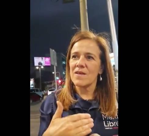 """""""No le da verguenza"""", dice ciudadano a Margarita Zavala"""