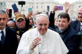 Papa Francisco anuncia que no participará en el retiro de Cuaresma