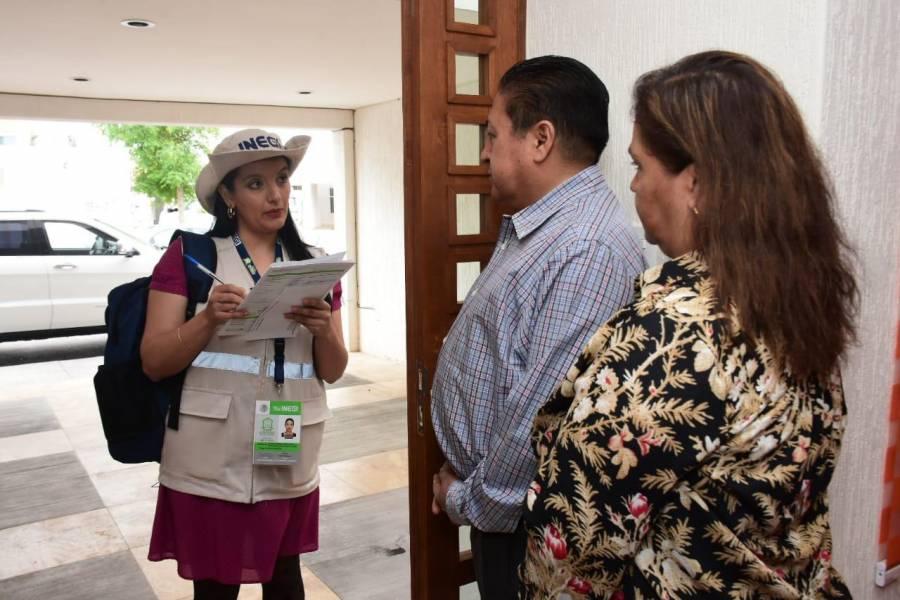 Alcalde de Soledad, primer censado de su municipio