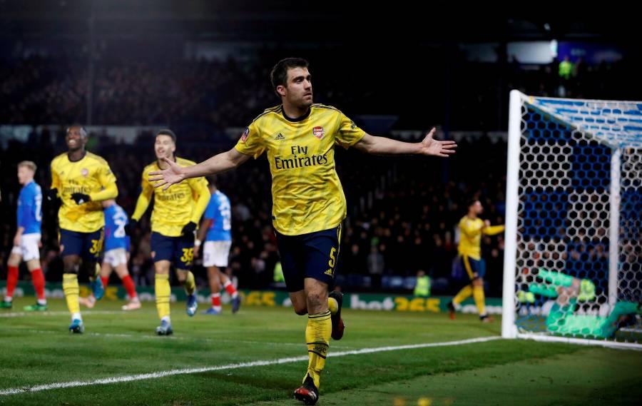Arsenal se mete a cuartos de final de la FA Cup