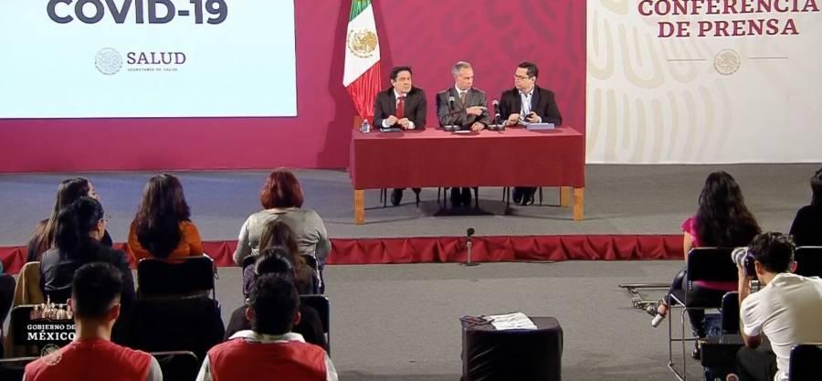 Se mantiene en 5 el número de casos confirmados de COVID-19 en México