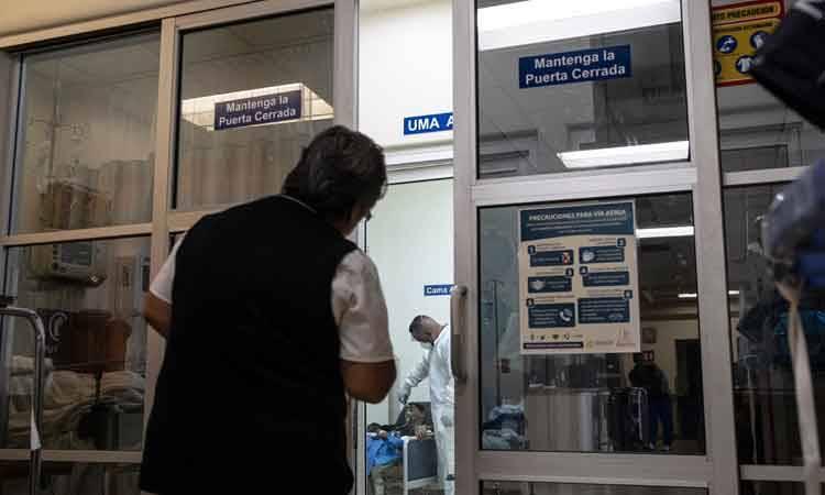 Negativos dos casos sospechosos en Edomex