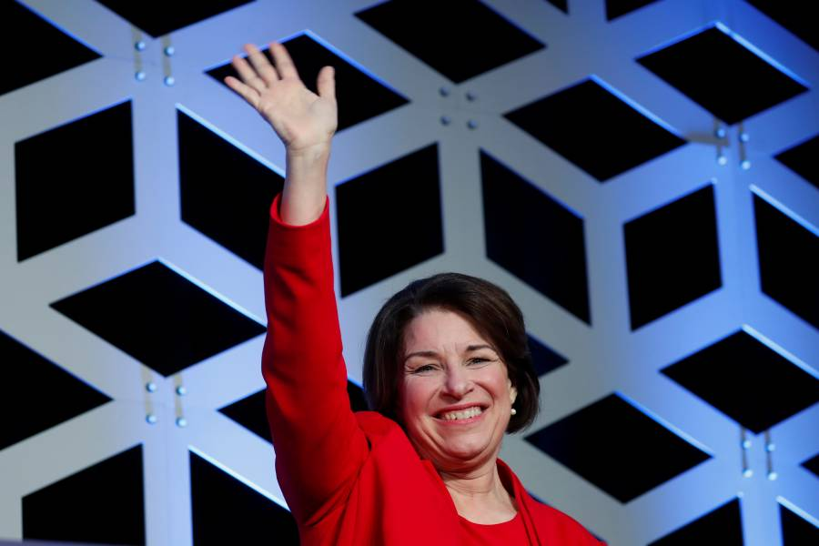 Biden consigue el respaldo de Amy Klobuchar para la candidatura demócrata