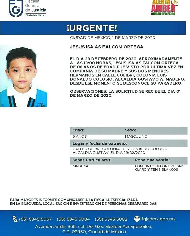 Alertan, diario desaparecen 7 menores de edad en el país